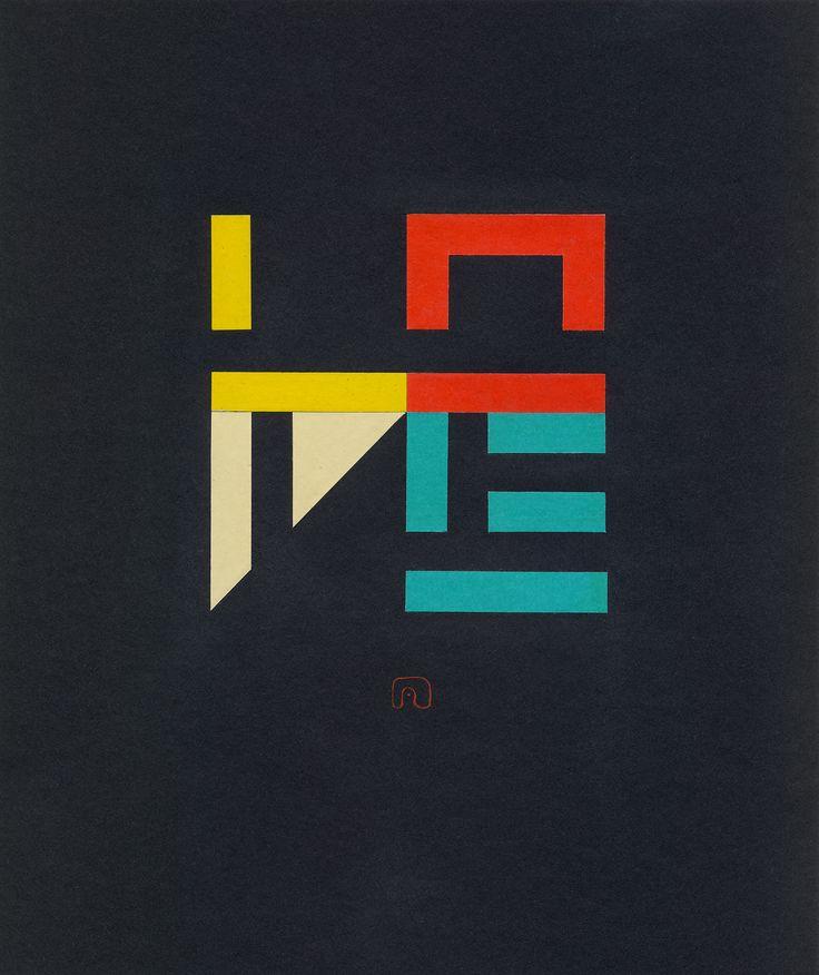 "The Transformation of ""LOVE"" N°04 - 21 x 25 cm / Art by Slavomir Zombek"