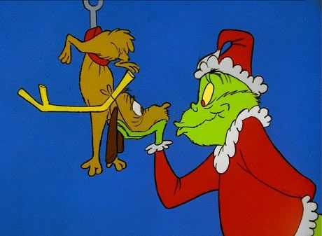 I love the Grinch and his dog.