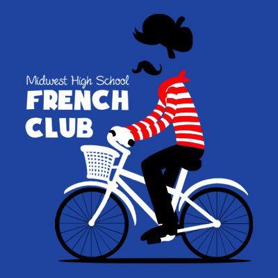 French club tshirt design craft ideas pinterest club for French club t shirt