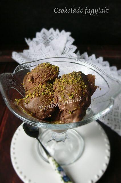 Csokoládé fagylalt