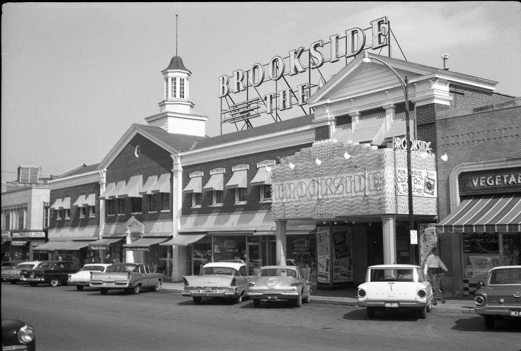 Brookside photo 1950's #Kansas #City #history