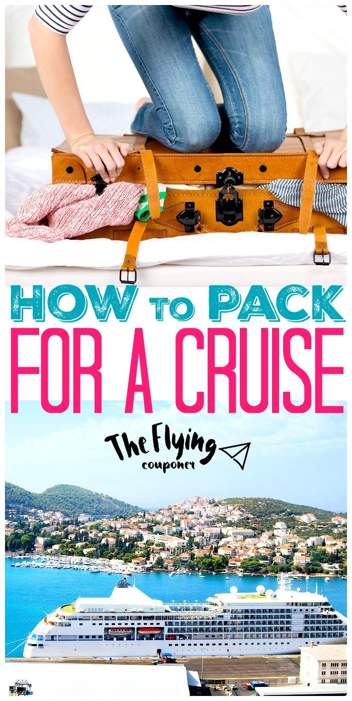 Packing for a cruise. Tips and Ideas for packing your suitcase. Family Travel. The Flying Couponer. Family. Travel. Saving Money.