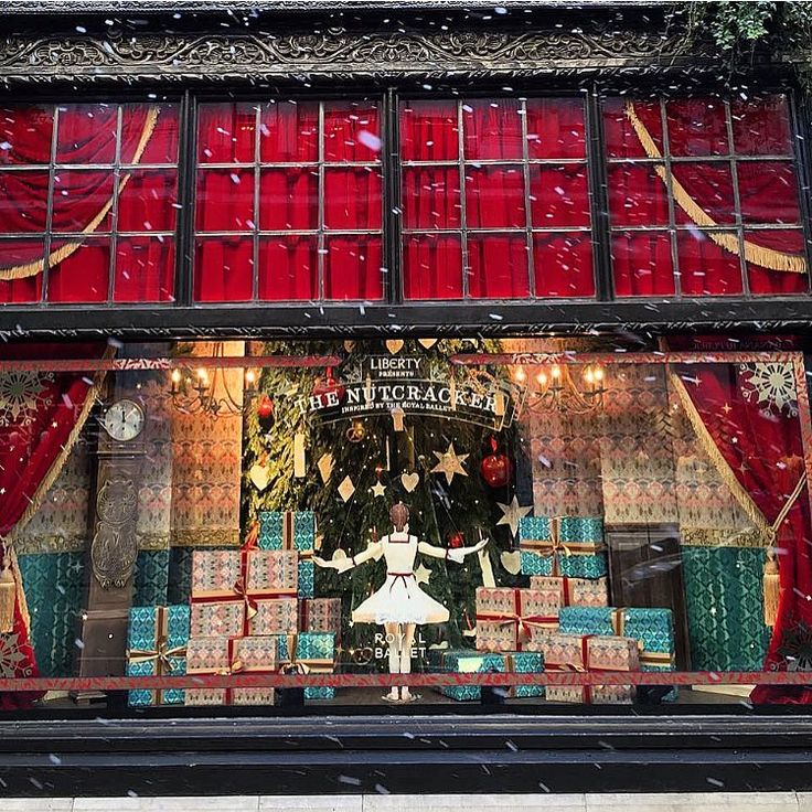 Christmas Inspiration | The Nutcracker | Liberty London Christmas Windows