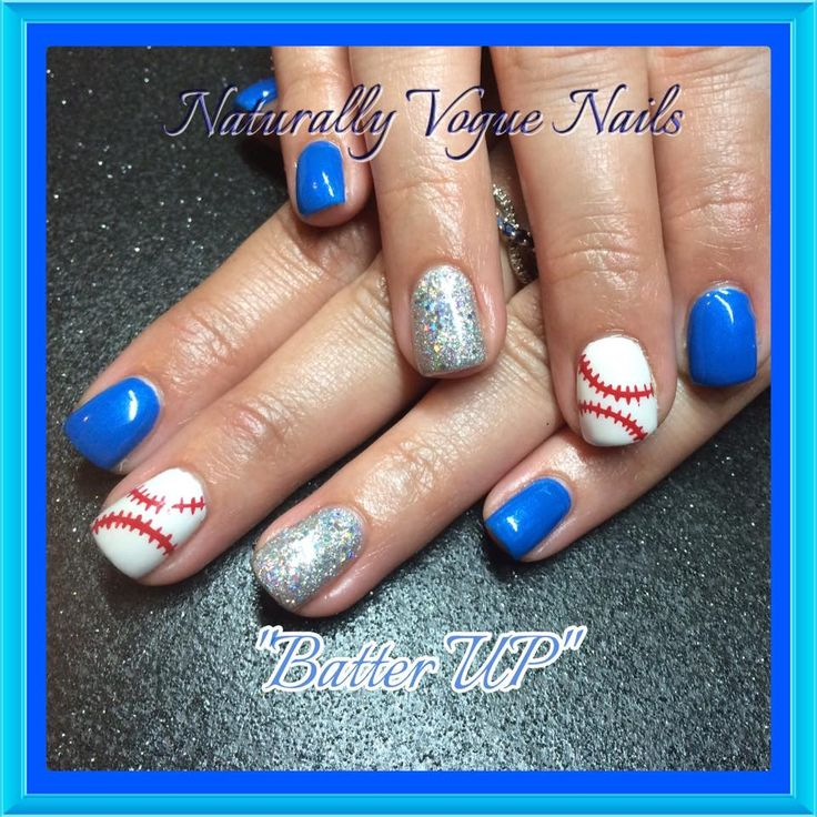 25 beautiful baseball nail designs ideas on pinterest softball who are you cheering on this baseball season here are some great baseball nails prinsesfo Images