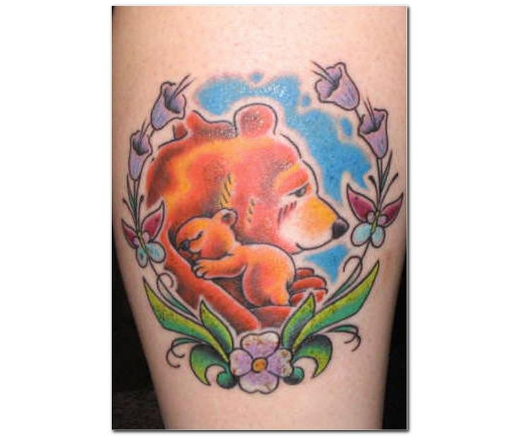Bear Tattoo With Cub: 17 Best Images About Tattoo Designs On Pinterest