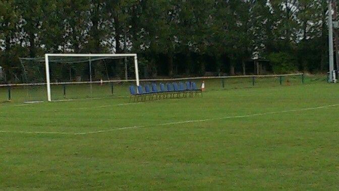 Wootton Blue Cross unveil their new goal keeper...