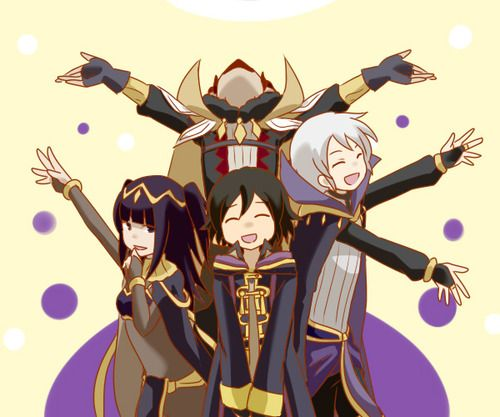 The Twisted Minds of Fire Emblem: Awakening. (Think that's Gangrel in the back, though it should be Validar)