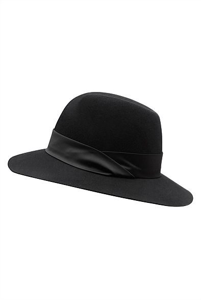 Twist Detail Felt Hat | Gift Cards