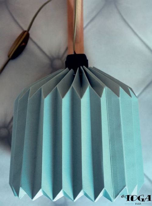 Voici comment réaliser une suspension origami.