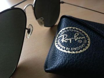 ≥ Ray-Ban pilotenbril zilver spiegelglas - Zonnebrillen en Brillen   Heren - Marktplaats.nl