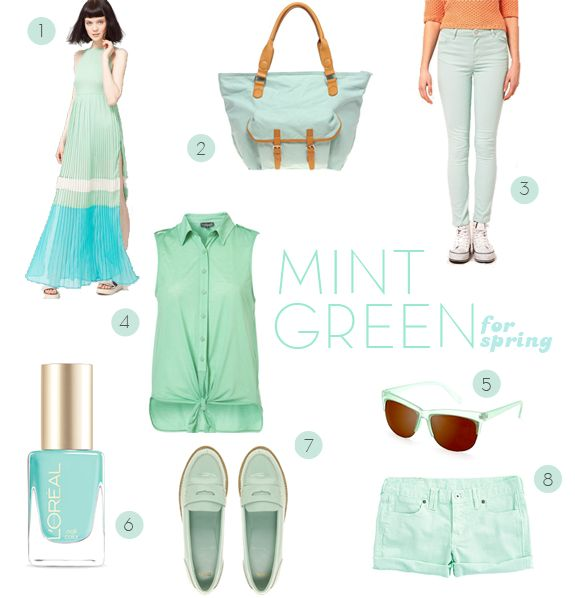 Spring Trend: Mint Green | Say Yes to Hoboken