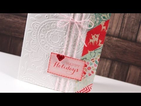 ▶ Holiday Card Series 2012 - Day 23 - YouTube