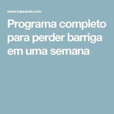 #perderbarriga #emagrecer #detox #dieta