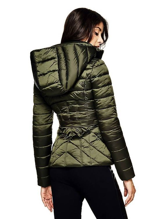 MARCIANO QUILTED JACKET on Guess.eu