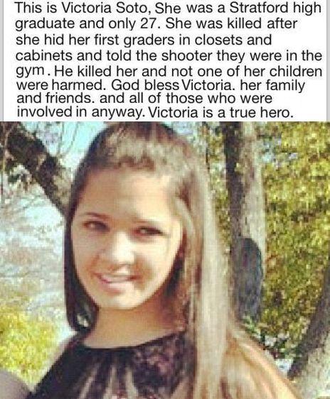 School Shooting History: Teacher Victoria Soto Saved All Her Children In School