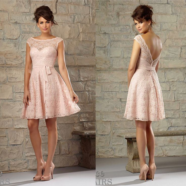 Country bridesmaid dress option Mori Lee Lace Affairs #725