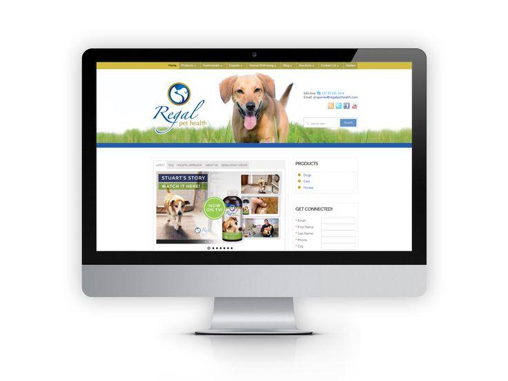 Website for client Regal Pet Health