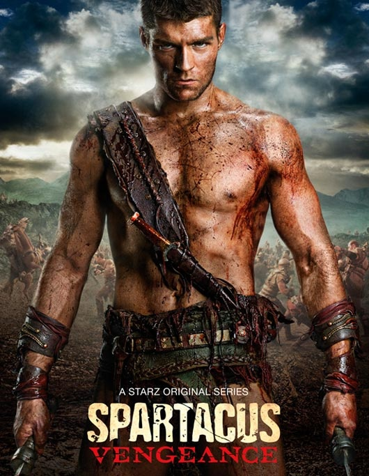 Spartacus - Liam McIntyre or as I think of him....The Hotness....yummmy