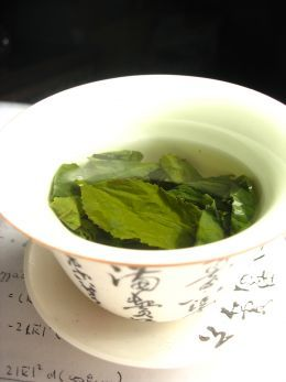 Go green with kirkland's green tea from Costco