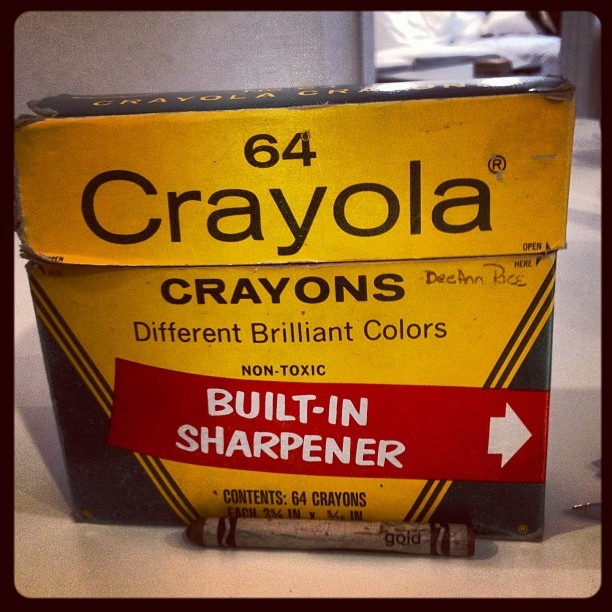 Classic crayons!