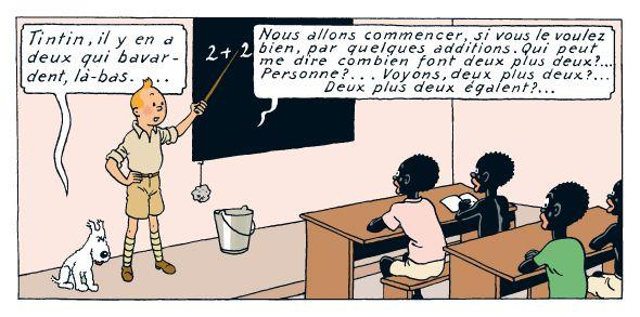 Les Aventures de Tintin - Tintin au Congo