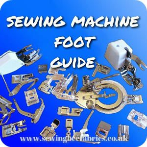 Free Tutorial - Sewing machine feet explained. Find out what feet fit your machine, how to attach them, Identify presser feet and find out what they are for
