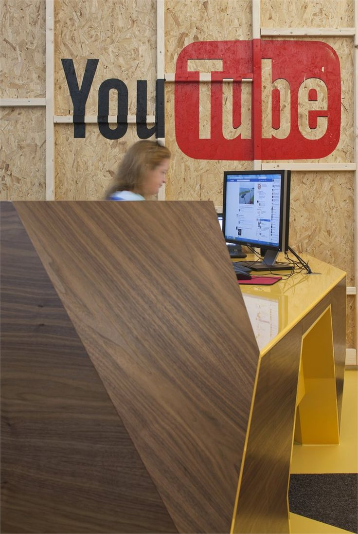 YouTube HQ London, Londra, 2012 by Penson    #youtube #office #headquarter #social
