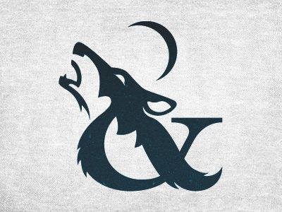 Wolf ampersand. - Graphic Design... Typography