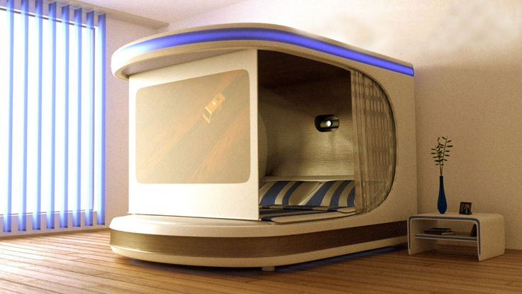 iNyx - Self-Contained-Bedroom Bed