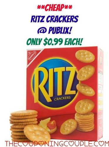**CHEAP RITZ CRACKERS** Pay only $0.99 each with a HOT DEAL at Publix! Stock up!  Click the link below to get all of the details ► http://www.thecouponingcouple.com/cheap-ritz-crackers-publix-stock-up-price/  #Coupons #Couponing #CouponCommunity  Visit us at http://www.thecouponingcouple.com for more great posts!