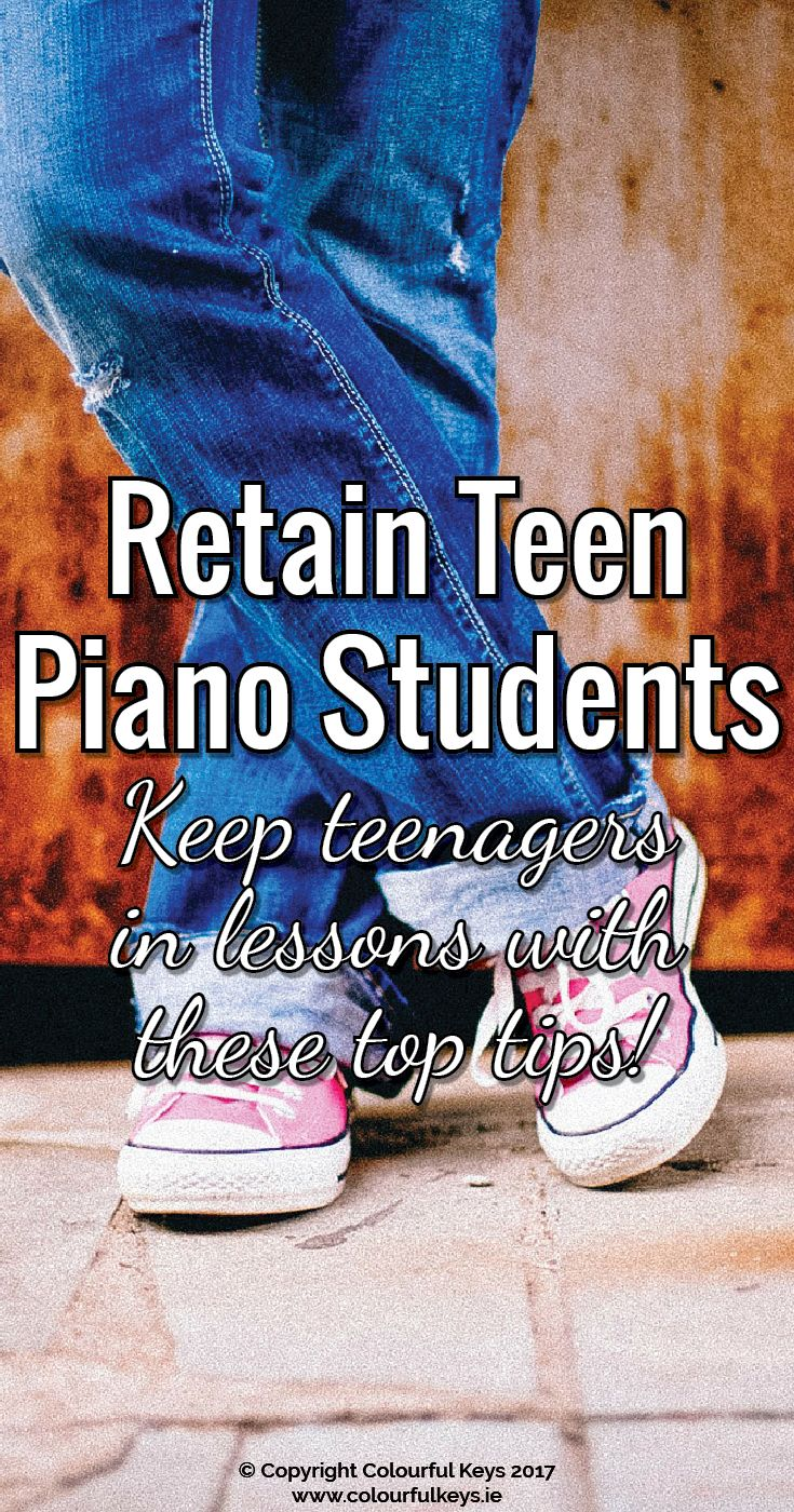 Retaining your teenage piano students means less marketing and new student intake. http://colourfulkeys.ie/dont-leave-proven-ways-stop-teenage-piano-students-quitting/