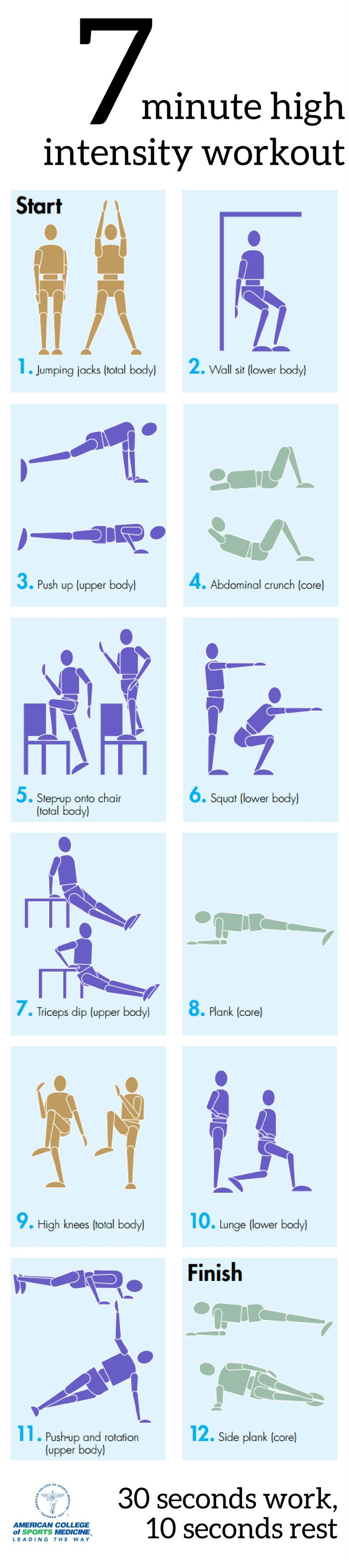 38 best Exercise and Fitness images on Pinterest   Exercise workouts ...