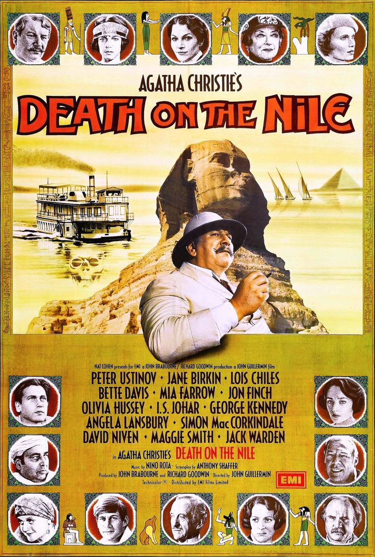 an analysis of the film death on the nile by christie agatha The paperback of the death on the nile (hercule poirot series) by agatha christie at barnes & noble free shipping on $25 or more.