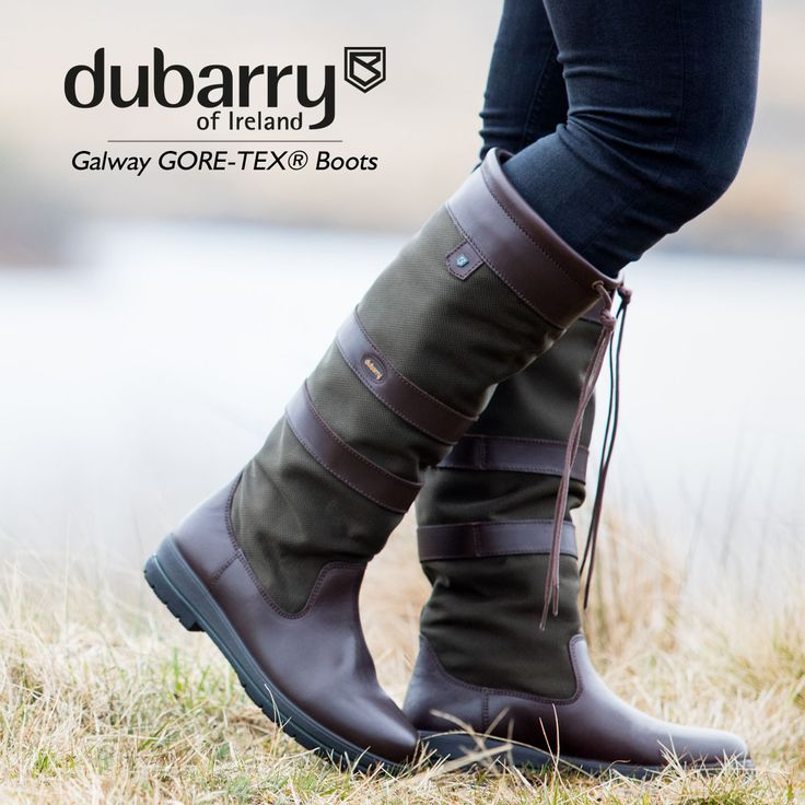 Dubarry Galway GORE-TEX® Boot - Constructed from the water resistant crushed leathers that give all Dubarry country boots its signature style.