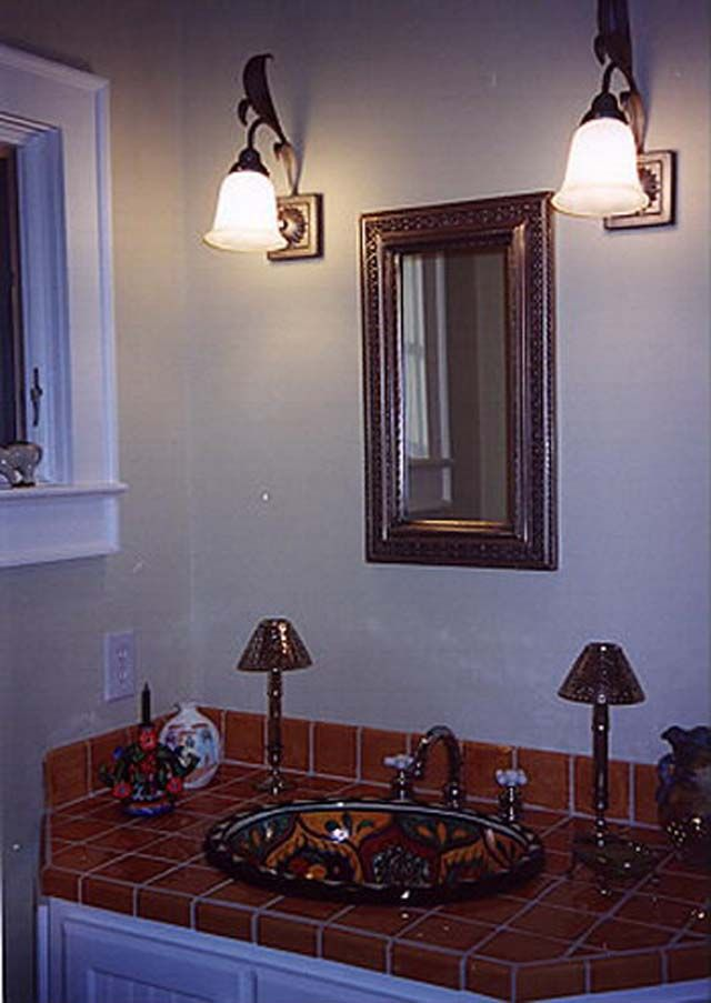 precious small bathroom decor mexican style with artistic painting tips and ideas magnificent art traditional