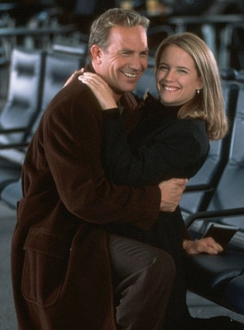 Kevin Costner and Kelly Preston 'For Love of the Game' 1999