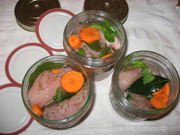 Filets de poulet confit aux céléris et carottes