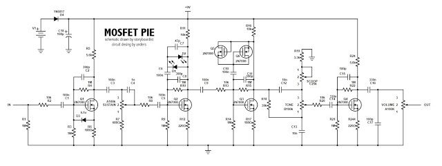 Perf And Pcb Effects Layouts Mosfet Pie Layout Cool Designs Circuit