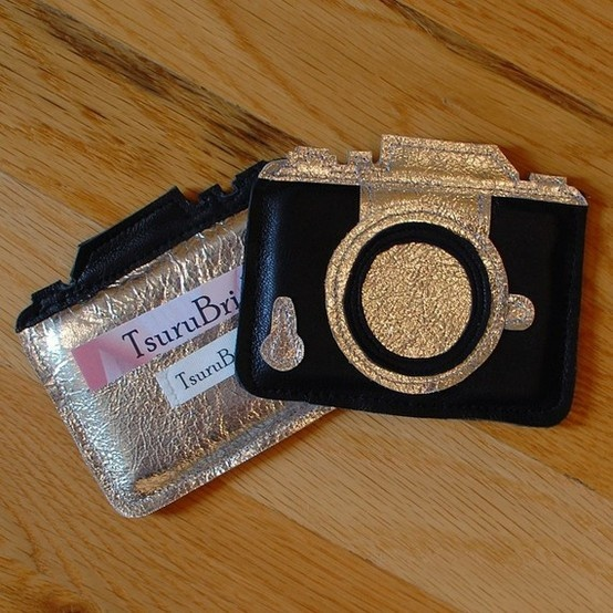camera shaped business card holder - perfect for photographers