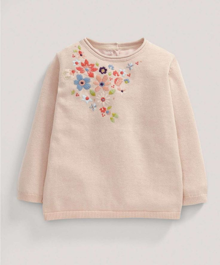 Girls Limited Edition Embroidered Jumper - NEW Arrivals - Mamas & Papas