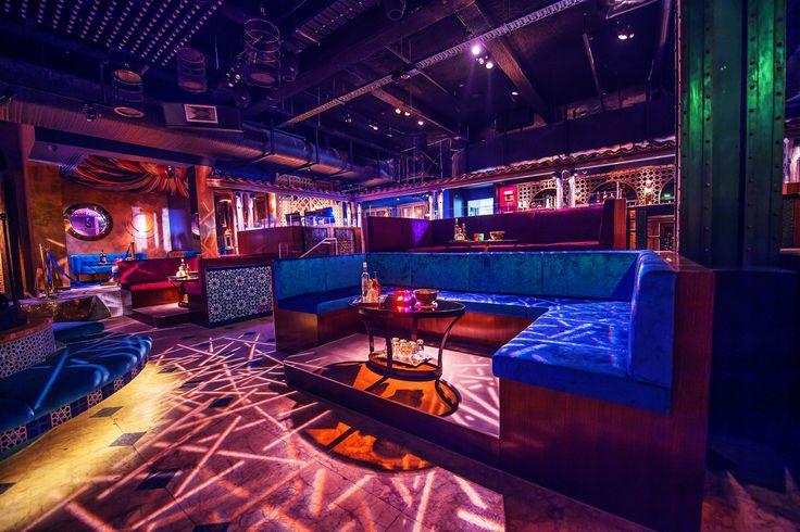 Spice Market Nightclub designed by Lukas Partners in Melbourne, Australia.