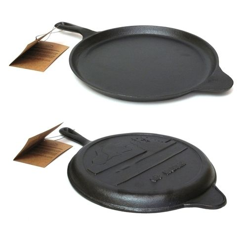 Old Mountain Cast Iron Preseasoned Round Griddle 10.5""""