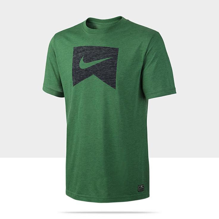 Nike Ribbon Logo Dri-FIT Blend Men's T-Shirt