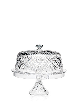 Godinger Dublin 4 In 1 Cake Dome - Gorgeous versatility lives in the Godinger Dublin 4 in 1 Cake Dome . This beautifully cut crystal glass set features a ...  sc 1 st  Pinterest & 159 best cake plates u0026 stands images on Pinterest   Cake dome Cake ...