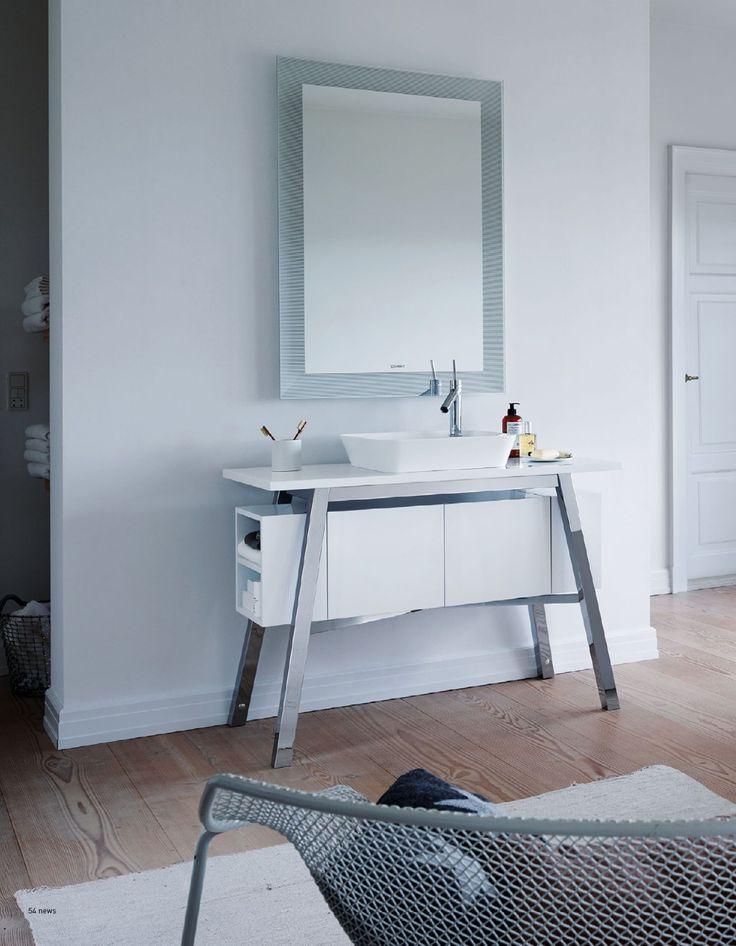 Duravit baderumsmøbel. Cape Cod  er renhed og minimalisme til det moderne badeværelse. #Duravit #bathroom #badmøbel #baderumsmøbler #Capecod #vvscomfort