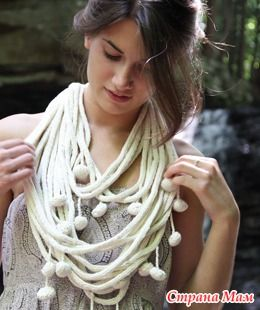 Вязаные шарфы. Идеи. - Вязание - Страна Мам