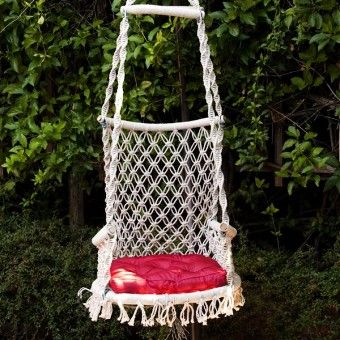 Princess Hanging Chair by HANDS - LoveItSoMuch.com
