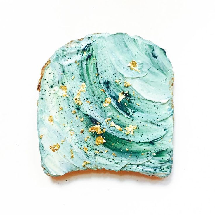 Mermaid Toast Is the Prettiest Breakfast Trend From Under the Sea   Glamour
