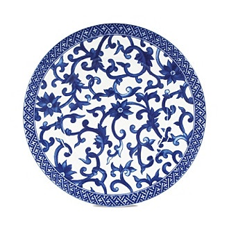 Lauren Ralph Mandarin Blue Salad Plate Fine Porcelain China In A And White Pattern Finechina Every Tool For The Job Kitchen Pinterest