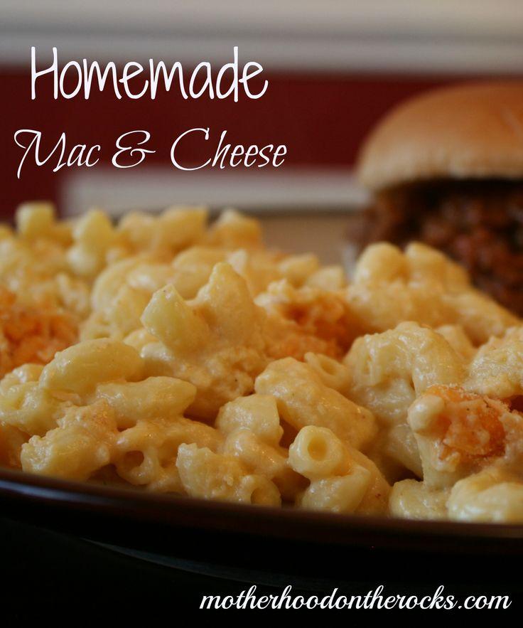 Homemade Mac & Cheese with Silk Soy Milk - Motherhood on the Rocks  #ReThinkWhatYouDrink #cbias